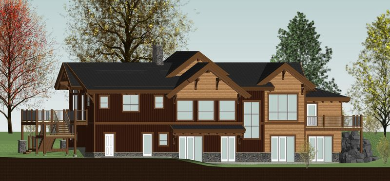 Rustic-Redstone-Canadian-Timberframes-Design-Rear-Elevation