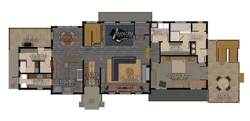 Living space: 2132 sq.ft
