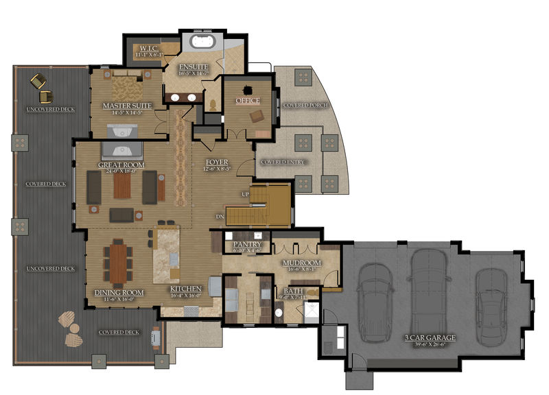 Main Floor: 2,358 Sq.ft.