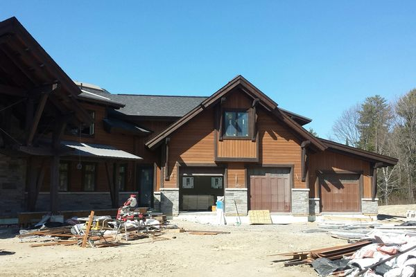 Lake-of-Bays-Haven-Ontario-Canadian-Timberframes-Construction-Garage