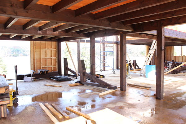 Lake-of-Bays-Haven-Ontario-Canadian-Timberframes-Construction-Interior