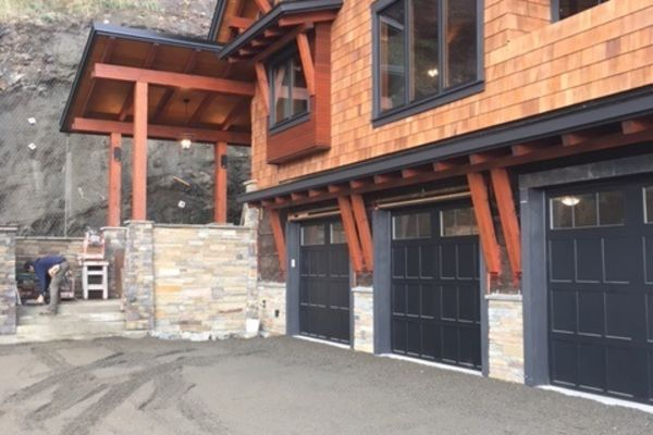 Whytecliff-Bowen-Island-British-Columbia-Construction-Exterior-Garage