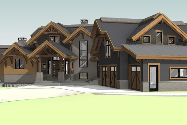 Northern-Meadows-Whitecourt-Alberta-Canadian-Timberframes-Design-Front-Right-Perspective