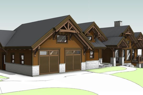 Aspen-Beauty-Colorado-Canadian-Timberframes-Design-Front-Left-Elevation