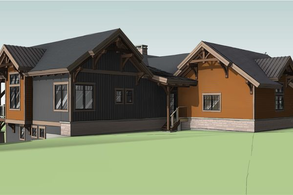 Bear-Rock-Colebrook-New-Hampshire-Canadian-Timberframes-Design-Side-elevation