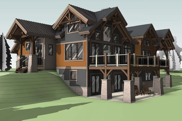 Bear-Rock-Colebrook-New-Hampshire-Canadian-Timberframes-Design-Elevation