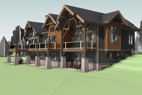 Bear-Rock-Colebrook-New-Hampshire-Canadian-Timberframes-Design-Rear-Elevation