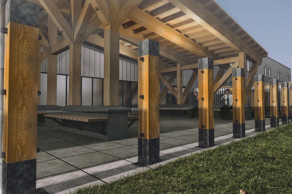 Richardson-Camp-Fort-McMurray-Alberta-Canadian-Timberframes-Design-3D