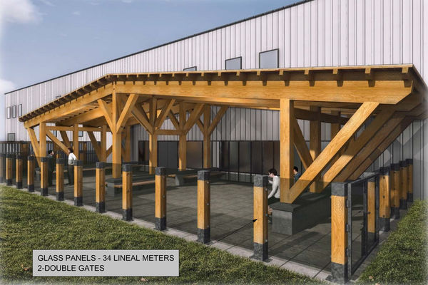 Richardson-Camp-Fort-McMurray-Alberta-Canadian-Timberframes-Design-3D-Parallel-Truss