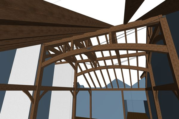 Modern-Trails-Ontario-Canadian-Timberframes-Design-Timber-Beams
