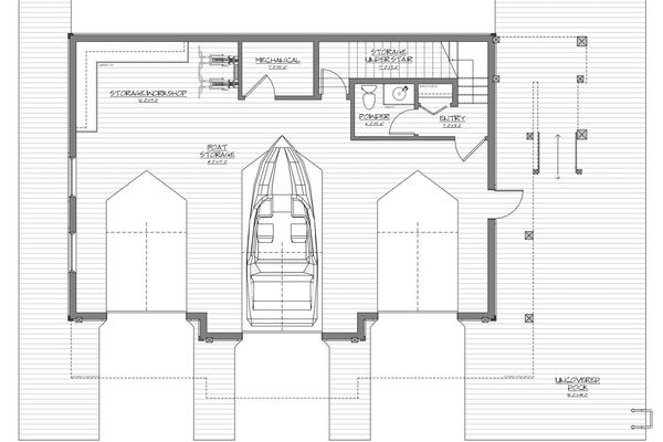 Guest-Boathouse-Muskoka-Ontario-Canadian-Timberfrmes-Design-Basement-Floor-Plan