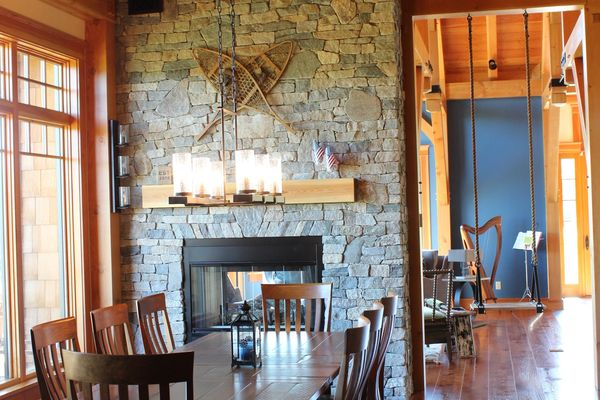 Bear-Rock-Colebrook-New-Hampshire-Canadian-Timberframes-Dining