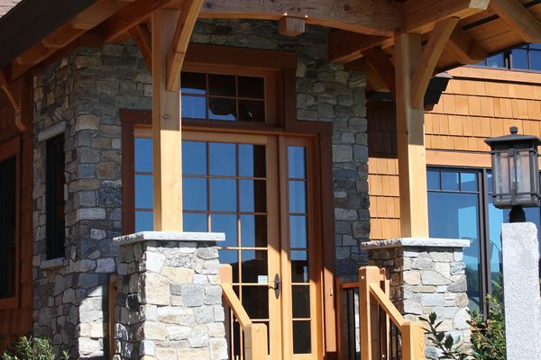 Bear-Rock-Colebrook-New-Hampshire-Canadian-Timberframes-Covered-Entrance