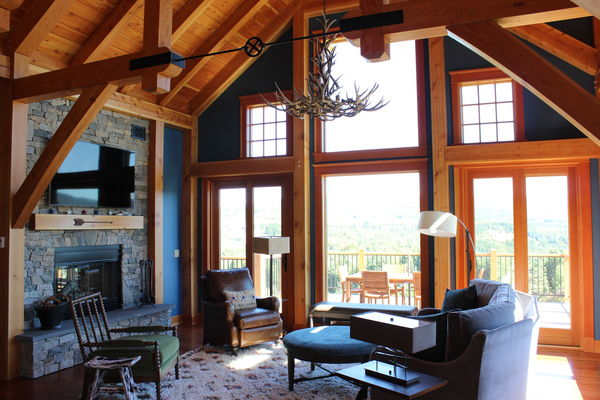 Bear-Rock-Colebrook-New-Hampshire-Canadian-Timberframes-Great-Room