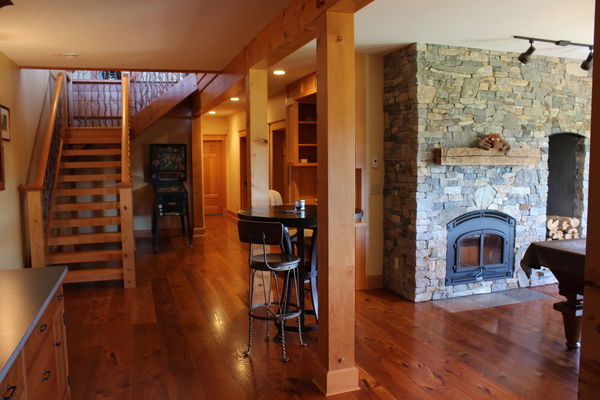 Bear-Rock-Colebrook-New-Hampshire-Canadian-Timberframes-Basement