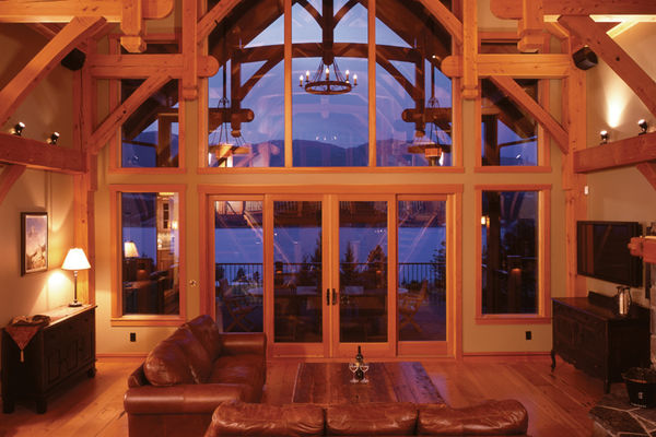 Osprey-Point-Invermere=British-Columbia-Canadian-Timberframes-Great-Room