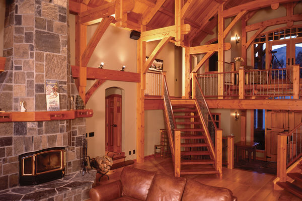 Osprey-Point-Invermere=British-Columbia-Canadian-Timberframes-Stairs-Loft