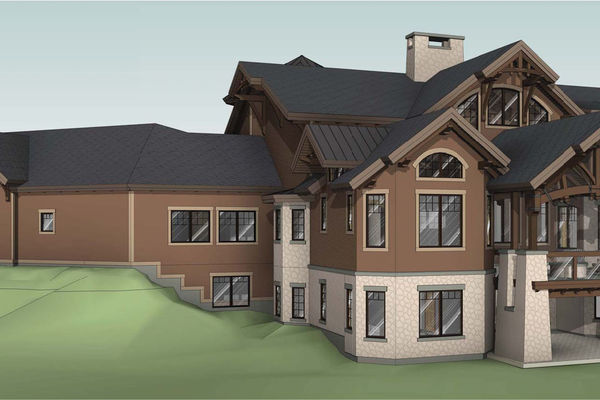 Rustic-River-Calgary-Alberta-Canadian-Timberframes-design-rear-elevation