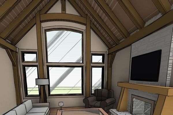 Clearview-Chalet-Collingwood-Ontario-Canadian-Timberframes-Design-3D-Interior