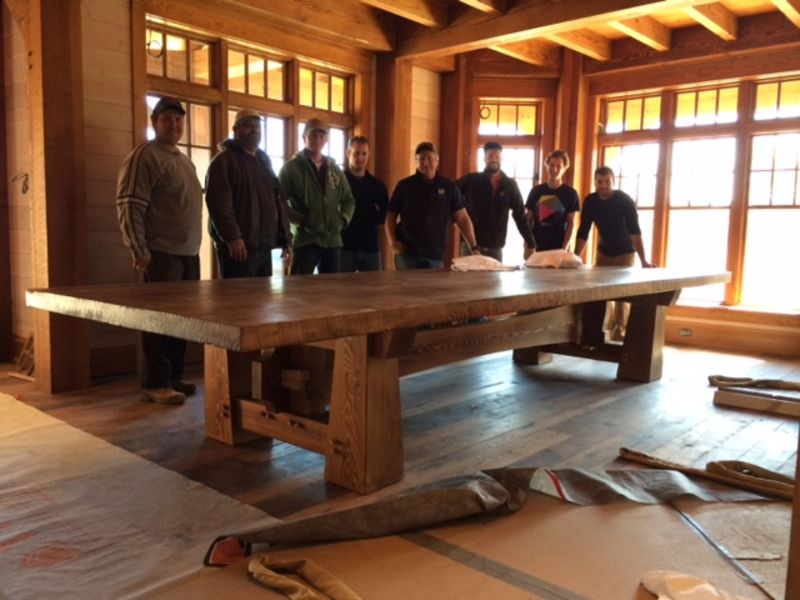 Click Here To View The Timberframe Project