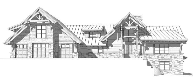 Columbia-Valley-Canadian-Timberframes-Design-Front-Elevation