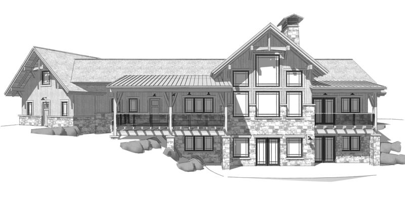 Columbia-Valley-Canadian-Timberframes-Design-Rear-Elevation
