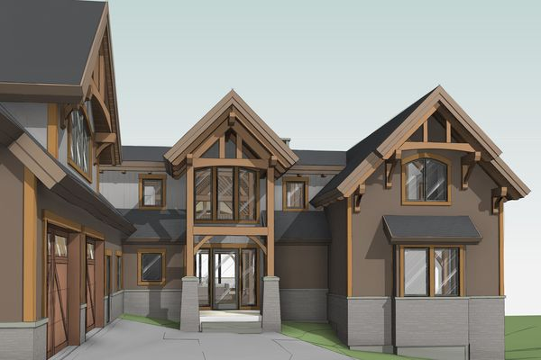 Great-Lakes-Legacy-Michigan-Canadian-Timberframes-Design-3D-Entry