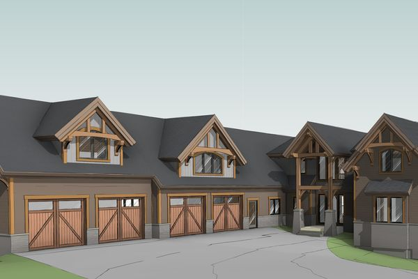 Great-Lakes-Legacy-Michigan-Canadian-Timberframes-Design-3D-Front-Entry